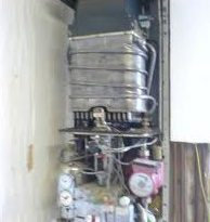 La vecchia caldaia Vaillant vcw tecnoblock