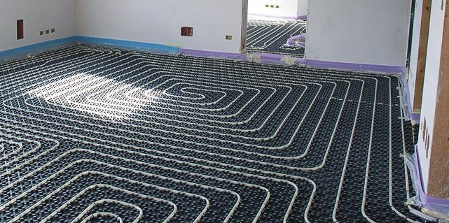 impianto di riscaldamento a pannelli radianti