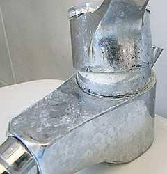 rubinetto calcare