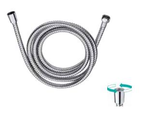 tubo flessibile acciaio cromato calotta girevole
