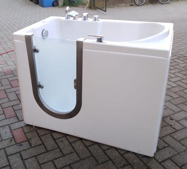 vasca da bagno usata con portina laterale 1