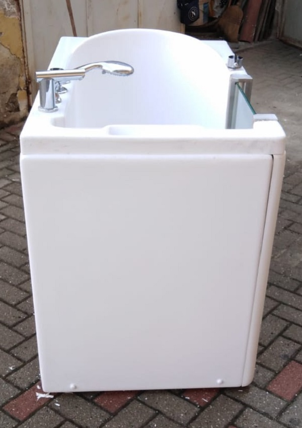 vasca da bagno usata con portina laterale 3