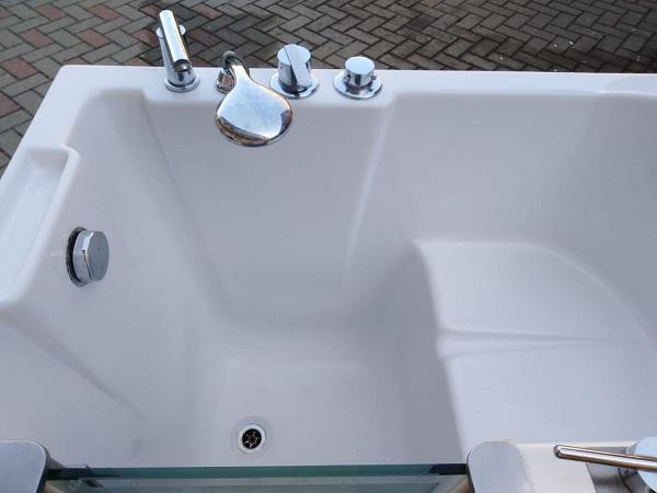 vasca da bagno usata con portina laterale 4