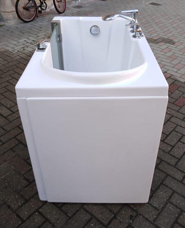 vasca da bagno usata con portina laterale