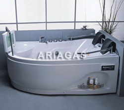 vasca idromassaggio 2 posti con monitor TV