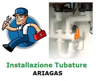 Installazione tubature Ariagas
