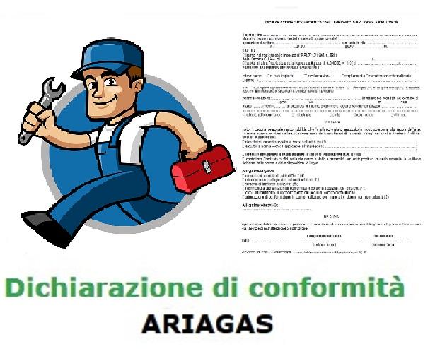 Dichiarazione di conformità Ariagas Torino