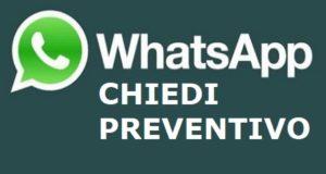 Chiedi informazioni su whatsapp